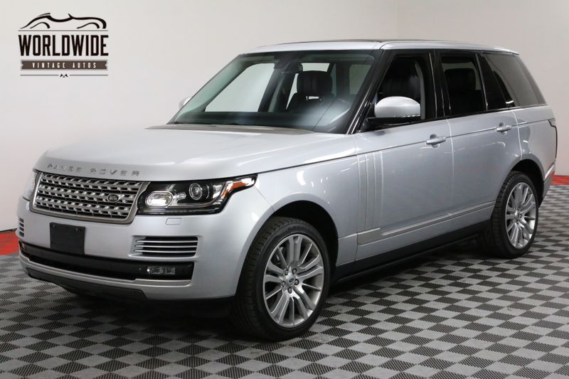 2014 Land Rover RANGE ROVER SUPERCHARGED CPO WARRANTY TO 100,000 MILES | Denver, CO | Worldwide Vintage Autos