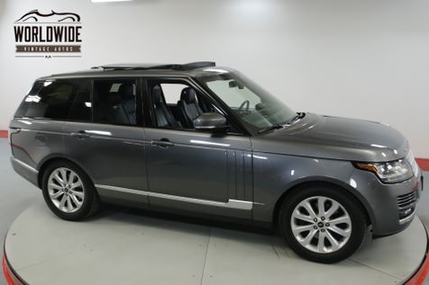 2014 Land Rover RANGE ROVER  LOW MILES SUPERCHARGED V6 PADDLE SHIFTERS  | Denver, CO | Worldwide Vintage Autos in Denver, CO