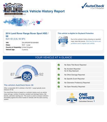2014 Land Rover Range Rover HSE  | Denver, CO | Worldwide Vintage Autos in Denver, CO