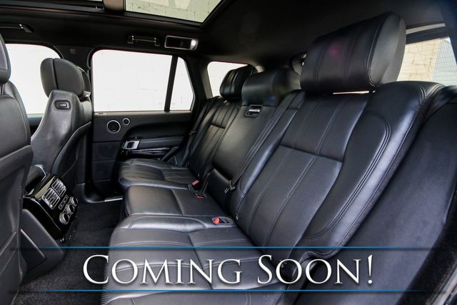 """2014 Land Rover Range Rover Supercharged 4x4 SUV w/Heated/Cooled Front and Rear Seats, Dual DVD Screens & 22"""" Rims in Eau Claire, Wisconsin 54703"""