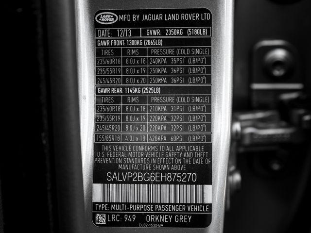 2014 Land Rover Range Rover Evoque Pure Plus Burbank, CA 34