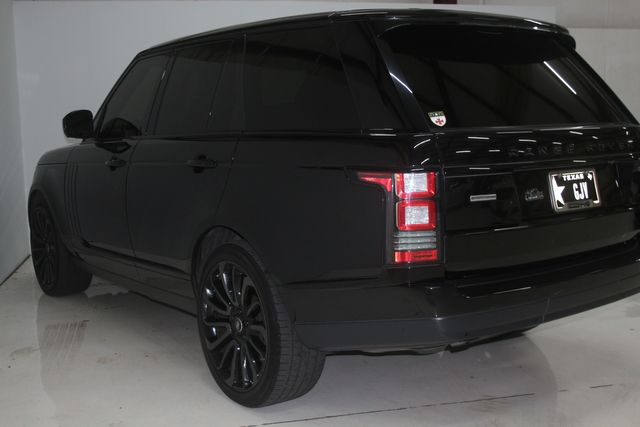 2014 Land Rover Range Rover Supercharged Ebony Edition Houston, Texas 10