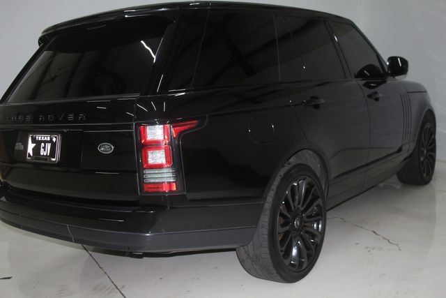 2014 Land Rover Range Rover Supercharged Ebony Edition Houston, Texas 8