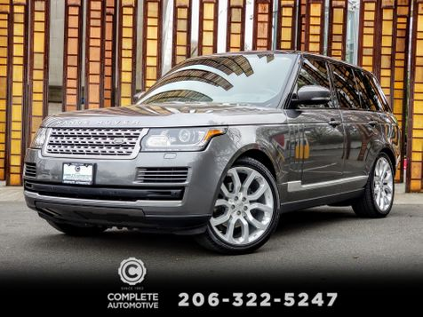 2014 Land Rover Range Rover 3.0L V6 Supercharged HSE  Local 2 Owner Certified Warranty 11/21/20 or 100K in Seattle