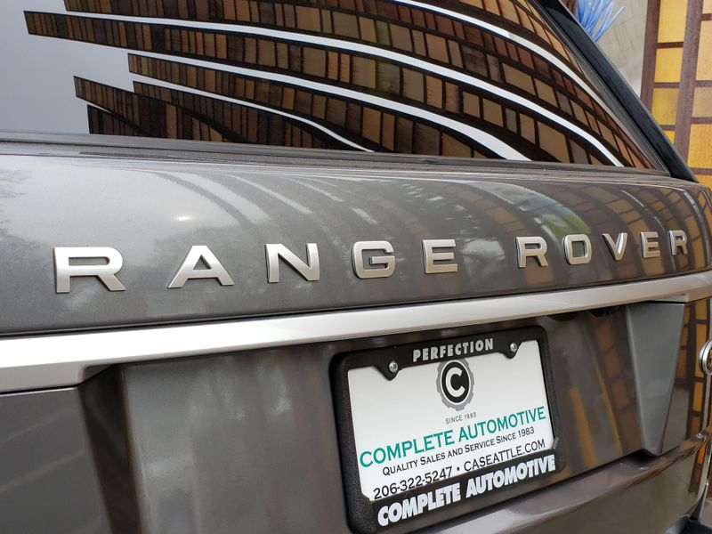 2014 Land Rover Range Rover 30L V6 Supercharged HSE  Local 2 Owner Certified Warranty 112120 or 100K  city Washington  Complete Automotive  in Seattle, Washington