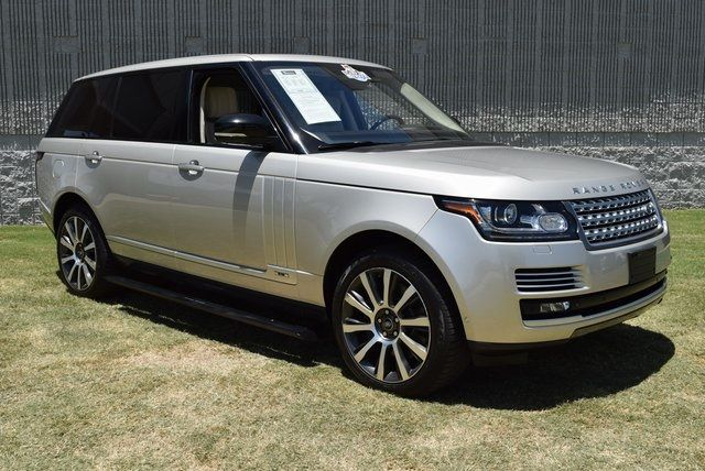 2014 Land Rover Range Rover 5.0L V8 Supercharged Autobiography LWB