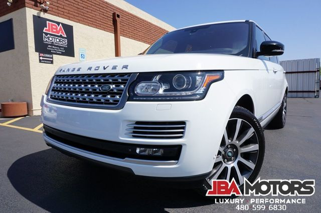 2014 Land Rover Range Rover LWB Supercharged Autobiography Full Size