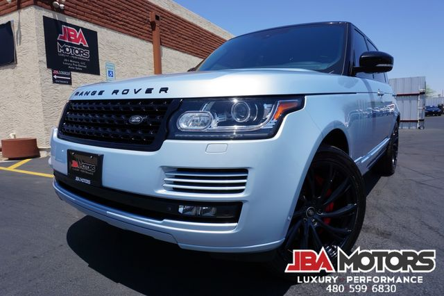 2014 Land Rover Range Rover Supercharged Autobiography LWB ATB Long Wheel Base