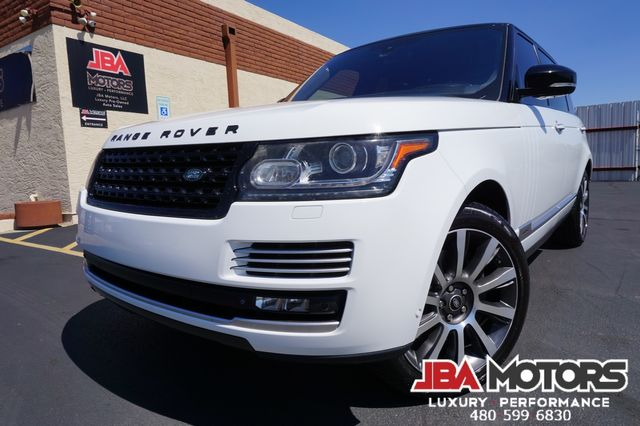 2014 Land Rover Range Rover Autobiography LWB Supercharged Long Wheel Base