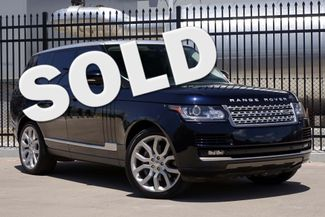 2014 Land Rover Range Rover S/C V8 * 22s * Vision Assist * SILVER ROOF *Tow Pk Plano, Texas
