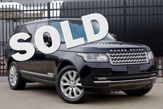 2014 Land Rover Range Rover HSE * Vision Assist * DVD * Climate Comfort Pkg * Plano, Texas