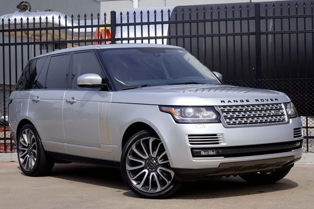 2014 Land Rover Range Rover SuperCharged Autobiography * DVD * 22's * ATB * Plano, Texas