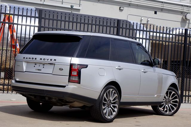 2014 Land Rover Range Rover SuperCharged Autobiography * DVD * 22's * ATB * Plano, Texas 4
