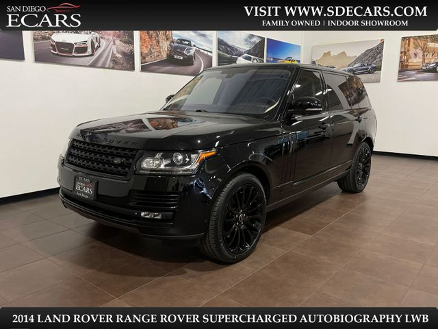 2014 Land Rover Range Rover Supercharged Autobiography LWB