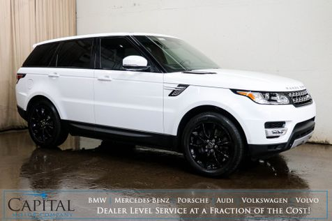 2014 Land Rover Range Rover Sport Supercharged V8 4x4 w/Nav, Backup Cam, Heated/Cooled Seats & Panoramic Roof in Eau Claire