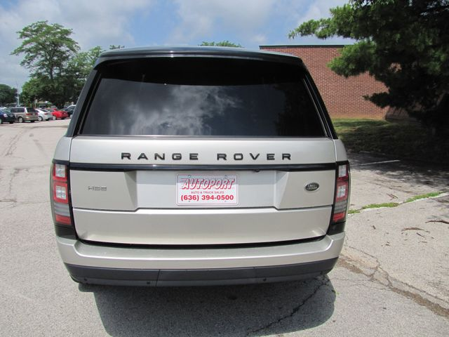 2014 Land Rover Range Rover HSE Supercharged St. Louis, Missouri 3