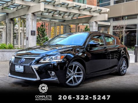 2014 Lexus CT 200h Hybrid Only 27,000 Miles Local 1 Owner F Sport Premium Navigation Packages RARE!  in Seattle