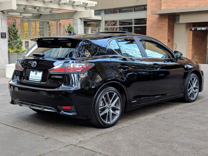2014 Lexus CT 200h Hybrid Only 27000 Miles Local 1 Owner F Sport Premium Navigation Packages RARE   city Washington  Complete Automotive  in Seattle, Washington