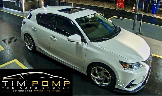 2014 Lexus CT 200h Hybrid W/SUNROOF LEATHER SEATS
