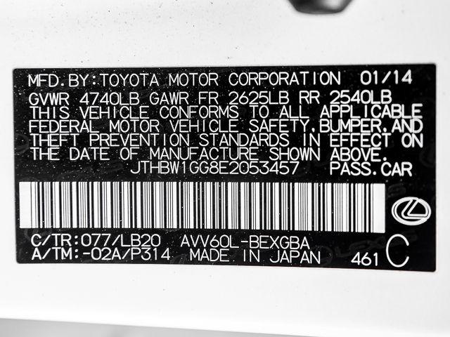 2014 Lexus ES 300h Hybrid Burbank, CA 29
