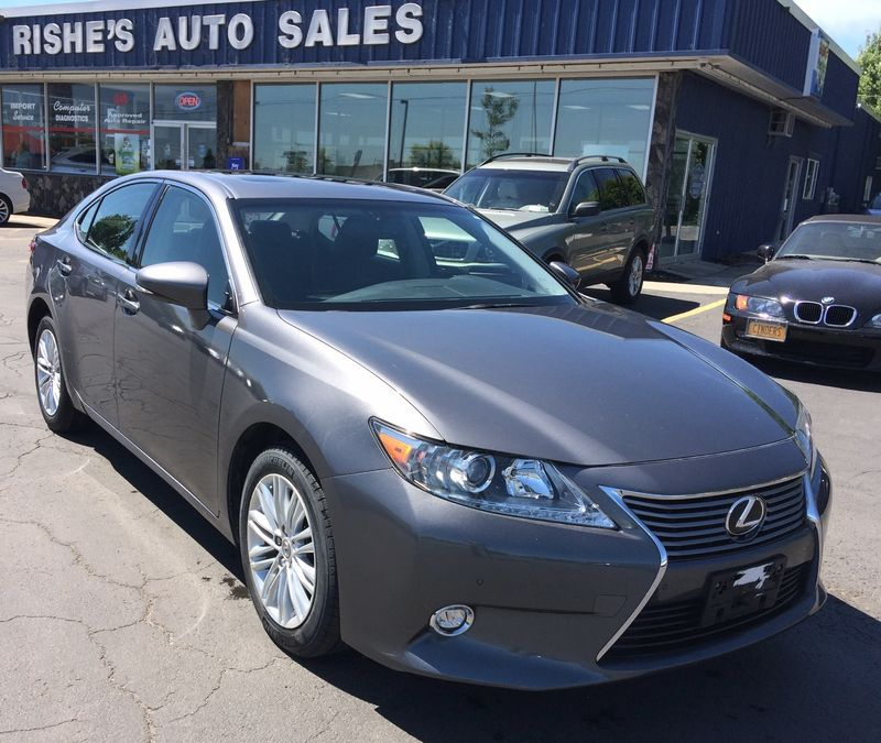 2014 Lexus ES 350  Nav! Low Miles!  | Rishe's Import Center in Ogdensburg New York