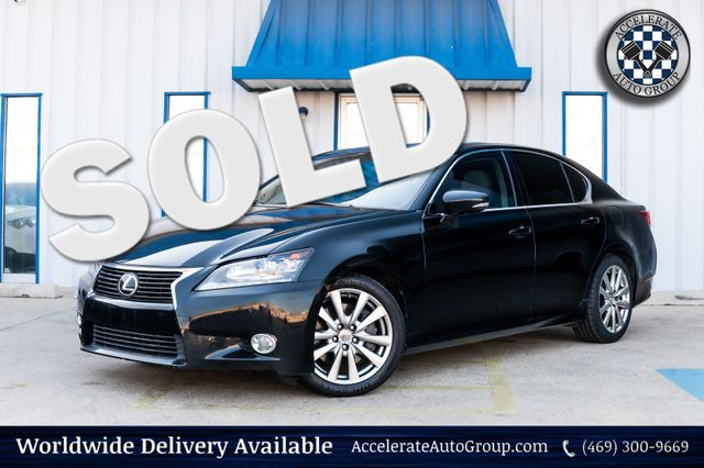 2014 Lexus GS 350 NAV HEATED/VENT SEATS LEATHER PWR OPTS MOONROOF in Rowlett