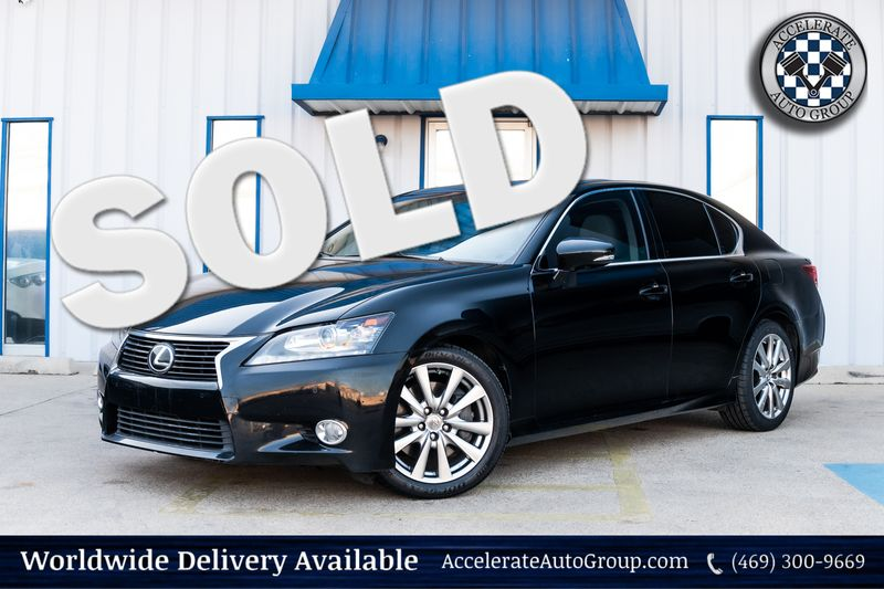 2014 Lexus GS 350 NAV HEATED/VENT SEATS LEATHER PWR OPTS MOONROOF in Rowlett Texas