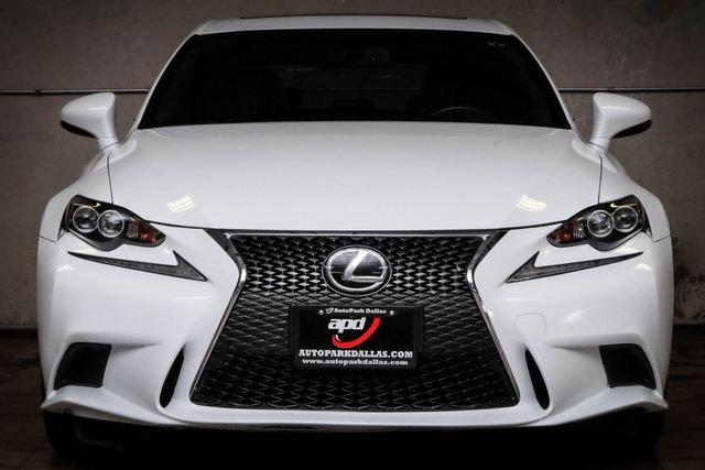 2014 Lexus IS 250 F-Sport w/ Rioja Red Leather in Addison, TX 75001