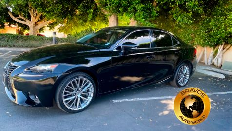 2014 Lexus IS 250 2.5 liter in cathedral city