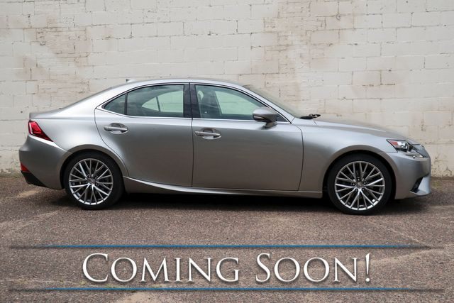 2014 Lexus IS250 AWD Sport Sedan w/Navigation, Backup Cam, Heated/Cooled Seats, Moonroof & 2-Tone Int. in Eau Claire, Wisconsin 54703