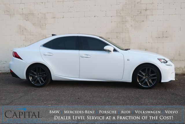 2014 Lexus IS250 AWD F-SPORT w/Nav, Backup Cam, Heated Seats and Bluetooth/Music App Audio in Eau Claire, Wisconsin 54703