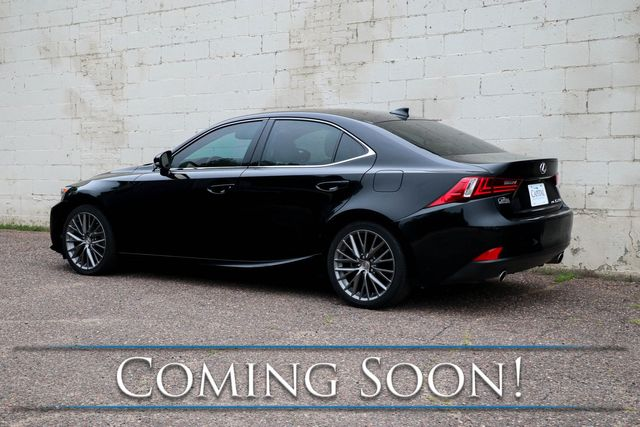 2014 Lexus IS250 AWD Sport Sedan w/Navigation, Backup Cam, Heated/Cooled Seats, Moonroof & LED Lighting in Eau Claire, Wisconsin 54703