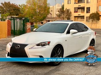 2014 Lexus IS 250 F-SPORT PKG RED INTERIOR SERVICE RECORDS XLNT CONDITION XENON in Van Nuys, CA 91406