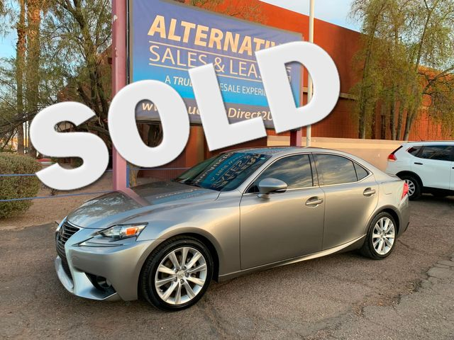 2014 Lexus IS 250 3 MONTH/3,000 MILE NATIONAL POWRTRAIN WARRANTY Mesa, Arizona