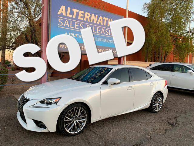 2014 Lexus IS 250 3 MONTH/3,000 MILE NATIONAL POWERTRAIN WARRANTY Mesa, Arizona