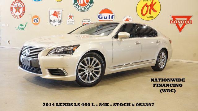 2014 Lexus LS 460 L SUNROOF,NAV,MARK LEVINSON,HTD/COOL LTH,84K in Carrollton, TX 75006
