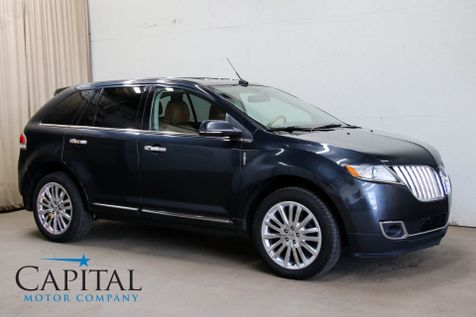 2014 Lincoln MKX AWD Crossover with Navigation, Backup Cam, Heated/Cooled Seats, THX Audio & 20-in Wheels in Eau Claire