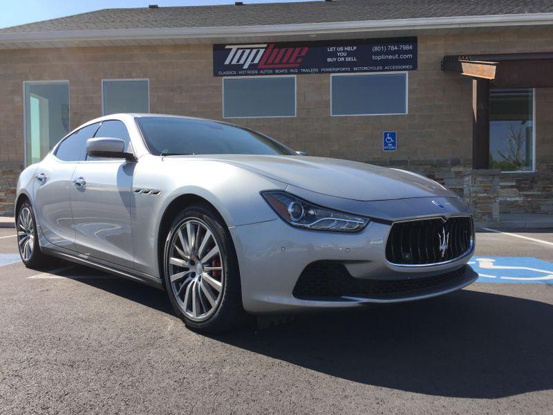 2014 Maserati Ghibli S Q4   Marriott-Slaterville, UT   Top Line Auto Sales