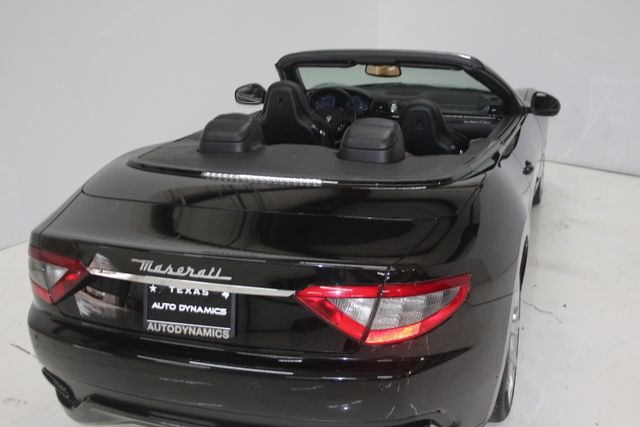 2014 Maserati GranTurismo Convertible Sport Houston, Texas 14