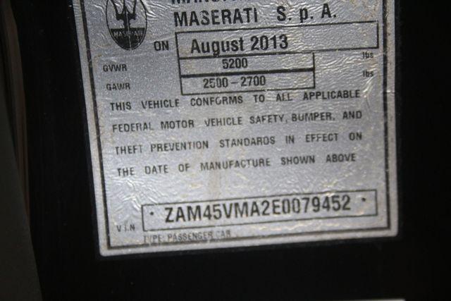 2014 Maserati GranTurismo Convertible Sport Houston, Texas 39