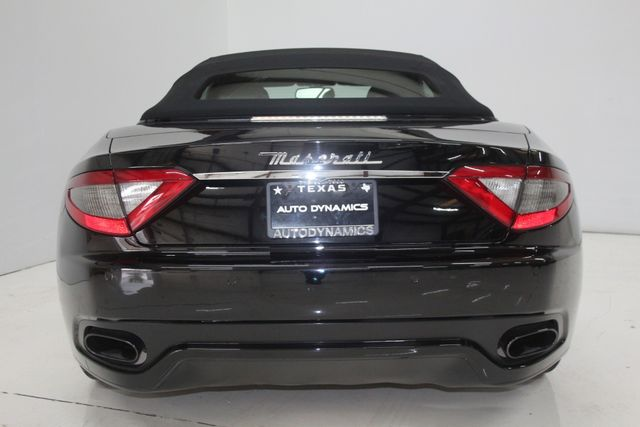 2014 Maserati GranTurismo Convertible Sport Houston, Texas 8