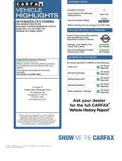 2014 Mazda CX-5 Touring Naugatuck, Connecticut 1