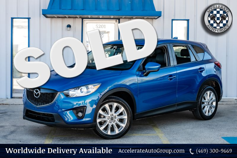 2014 Mazda CX-5 2.5L GrandTouring Bose Stereo 1-Owner Clean Carfax in Rowlett Texas