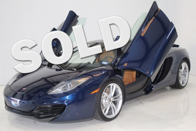 2014 Mclaren MP4-12C SPYDER Houston, Texas 0