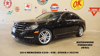 2014 Mercedes-Benz C 250 Sport Sedan SUNROOF,NAV,HTD LTH,H/K SYS,53K in Carrollton, TX 75006