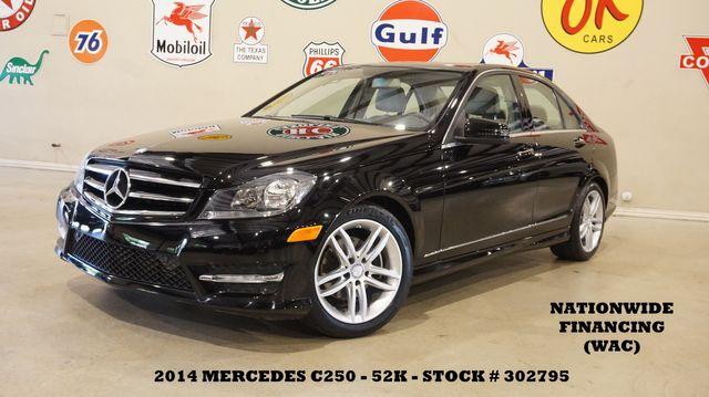2014 Mercedes-Benz C 250 Sport Sedan SUNROOF,NAV,HTD LTH,H/K SYS,52K in Carrollton, TX 75006