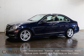 2014 Mercedes-Benz C300 Sport 4Matic AWD w/Nav, Backup Cam, Heated Seats, Moonroof and Bluetooth Audio in Eau Claire, Wisconsin 54703
