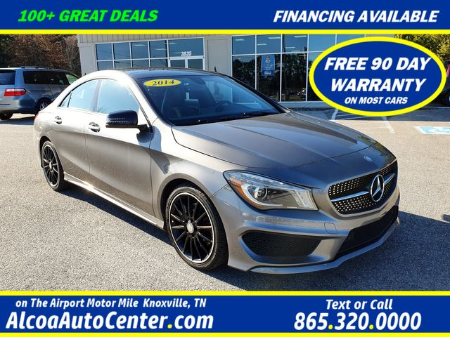 "2014 Mercedes-Benz CLA 250 4Matic Premium/Sport w/Nav/Sunroof/18"" Alloys"