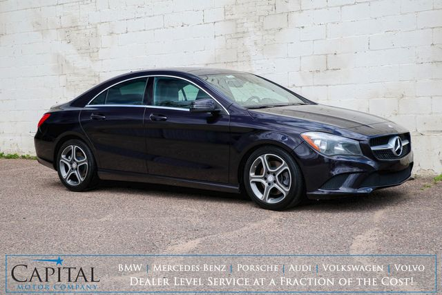 2014 Mercedes-Benz CLA250 4MATIC AWD Luxury Car w/Panoramic Moonroof, Heated Seats, Premium Pkg & B.T. Audio in Eau Claire, Wisconsin 54703