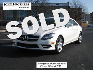 2014 Sold Mercedes-Benz CLS 550 Conshohocken, Pennsylvania 0